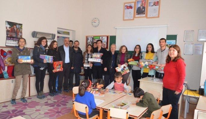 Salihli'de öğrencilerden örnek proje