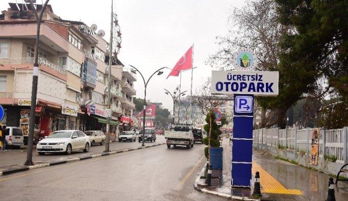 Alaşehir'e 500 araçlık ücretsiz otopark