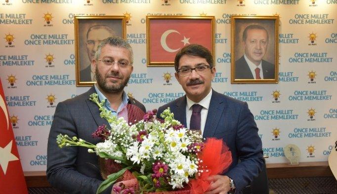 Başkan Çelik'ten Çipiloğlu'na 'hayırlı olsun' ziyareti