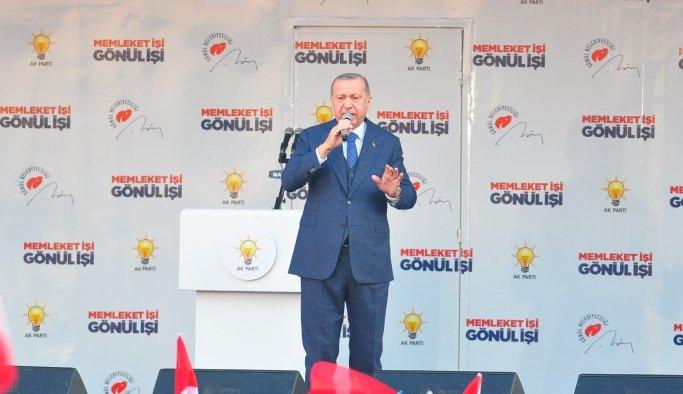 Cumhurbaşkanı Erdoğan'dan Millet İttifakı Gafı