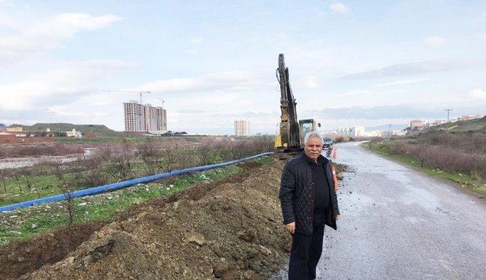 Selvilitepe'nin içme suyu hattı yenileniyor