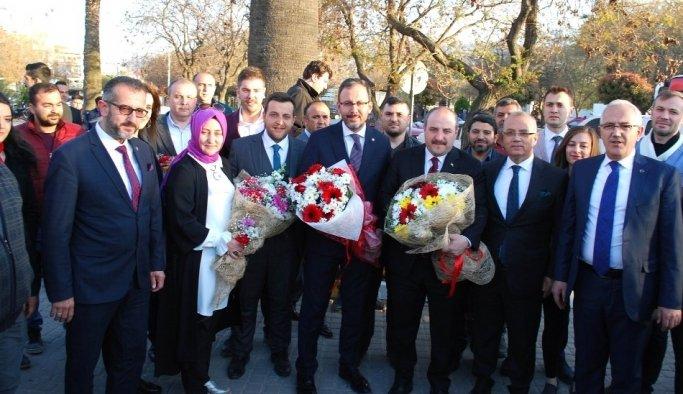 Bakan Varank ve Kasapoğlu'ndan Salihli'ye ziyaret