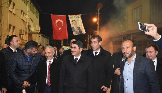 Başkan Çelik Sancaklıbozköy'de destek istedi