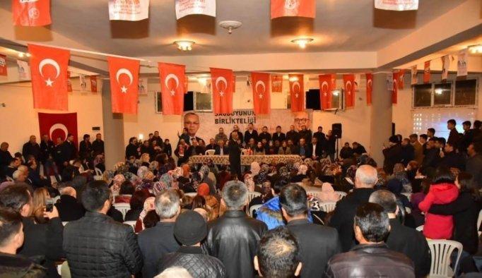 Başkan Kayda MHP'ye yapılan taşlı saldırıyı kınadı