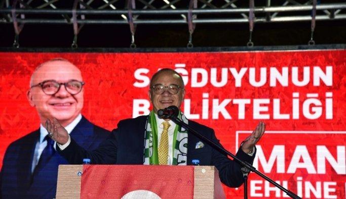 Cumhur İttifakının adayları Tevfikiye'den seslendi