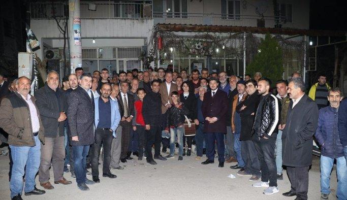 """Milletin adayı Özdemir, """"Çay çorba belediyeciliği yapmayacağız"""""""