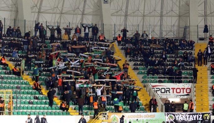Spor Toto Süper Lig: Akhisarspor: 0 - Aytemiz Alanyaspor: 0 (İlk yarı)