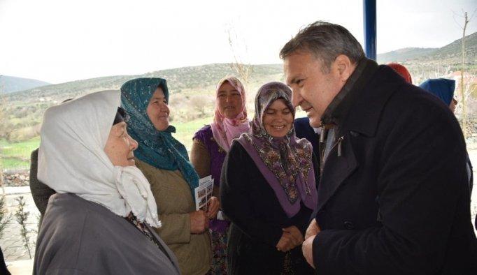 Yunusemre Belediyesinden iki mahalleye iki yeni hizmet
