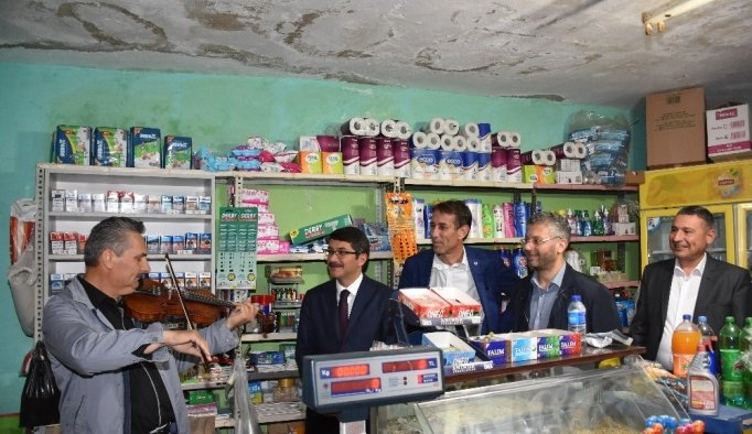 Başkan Çelik'ten Yeşilköy'e teşekkür ziyareti