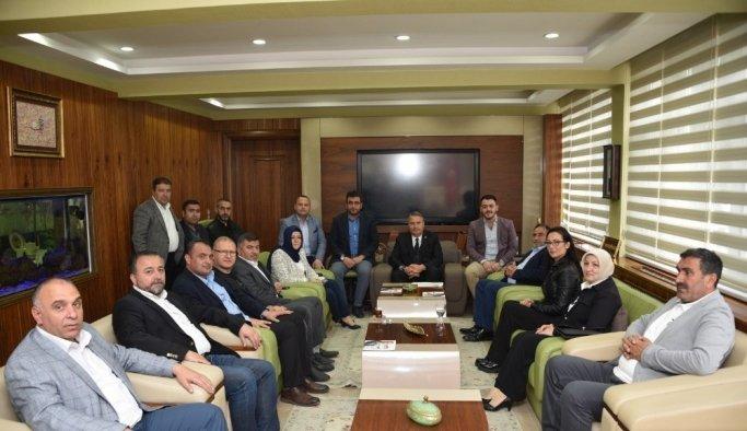Başkan Çerçi AK Parti Yunusemre Teşkilatını ağırladı
