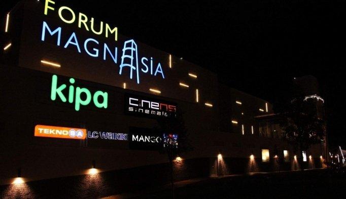 Forum Magnesia'nın ışıkları gelecek için azaltılacak