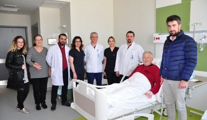 Manisa Şehir Hastanesinde başarılı kalp operasyonu