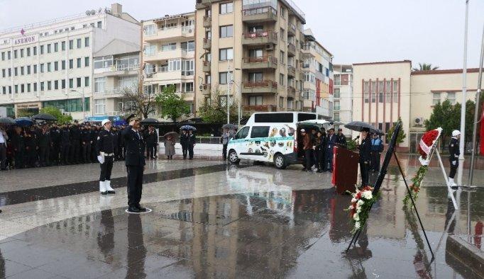 Manisa'da Türk Polis Teşkilatının 174. kuruluş yıl dönümü