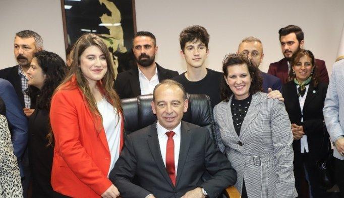 Turgutlu Belediyesinde Çetin Akın dönemi başladı