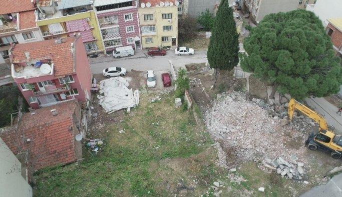 Yiğitbaş Veli Cami yenilenmek üzere yıkıldı
