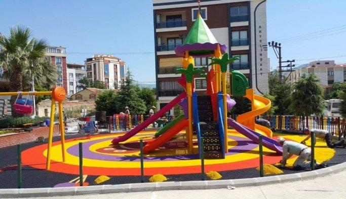 Yunusemre'den 4 mahalleye yeni park
