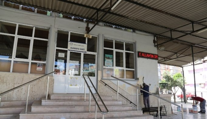 Alankuyu Camii Turgutlu Belediyesi ile yenilendi