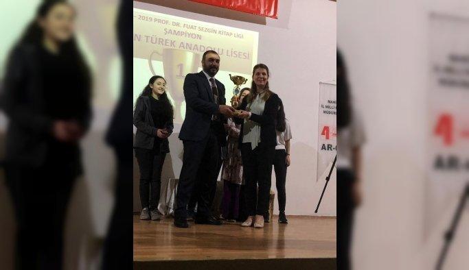 Hasan Türekli öğrenciler şampiyon oldu