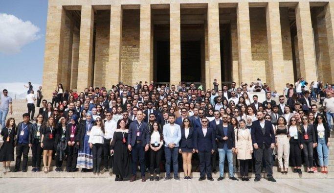 MAGİAD'lı öğrenciler Manisa'yı Ankara'da temsil etti