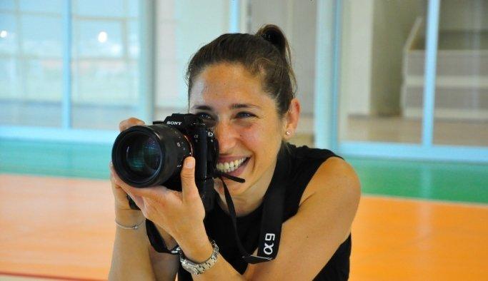 Milli sporcuydu, olimpiyatların kadrolu fotoğrafçısı oldu