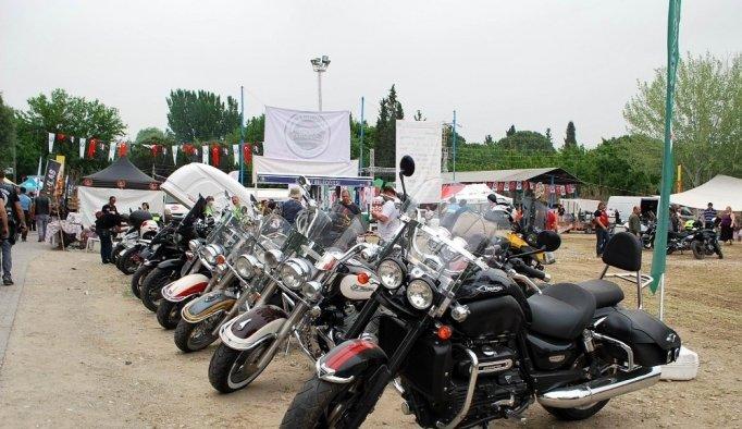 Salihli motosiklet festivaline hazırlanıyor