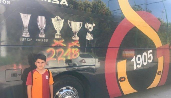 Salihlispor'un oyuncusu Galatasaray kampında