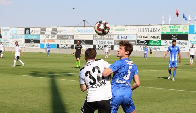 TFF 2. Lig Play-off: Manisa BBSK: 1 - Tuzlaspor: 2 (Maç sonucu)