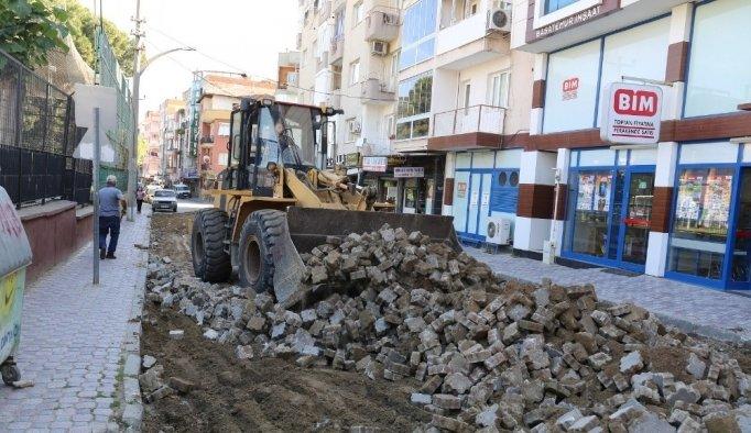 Turgutlu sokaklarındaki çalışmalar devam ediyor