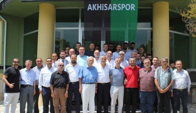 Akhisarspor'un yeni yönetimi belli oldu
