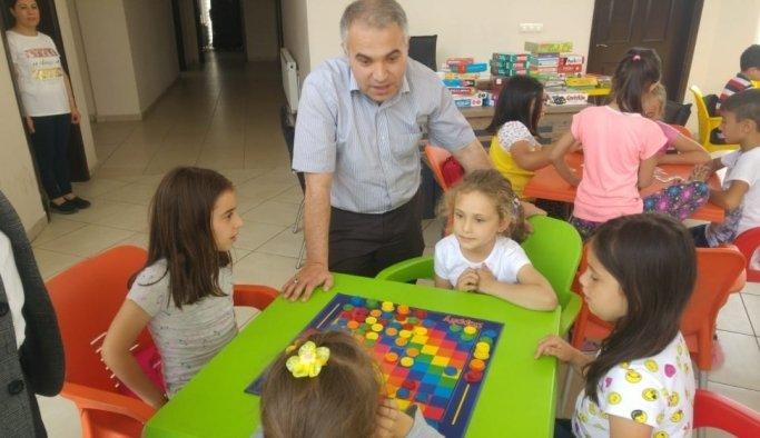 Kaymakam Kemal Duru'dan yaz kurslarına ziyaret