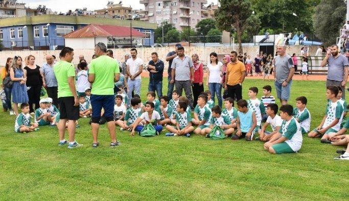 Salihli'de yaz spor okulları kapılarını açıyor