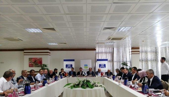 Başkan Çelik TDBB yönetim kurulu toplantısında