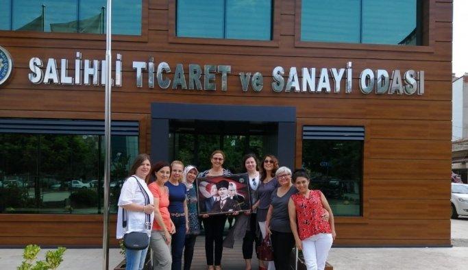 Salihli'de kadınlar kooperatif çatısı altında birleşti