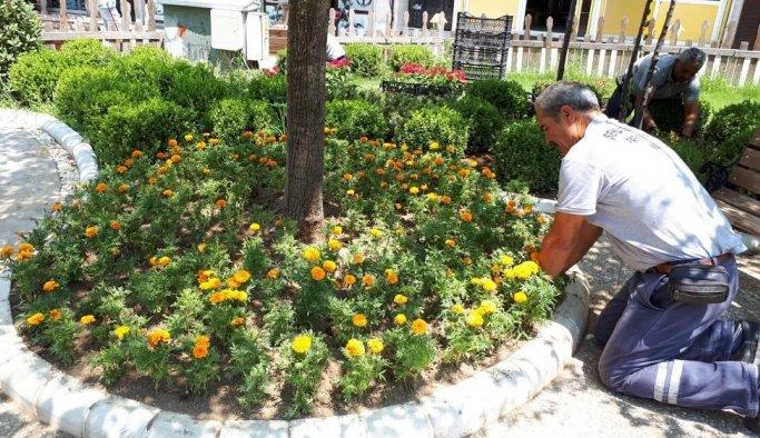 Şehzadeler'de hummalı yaz mesaisi