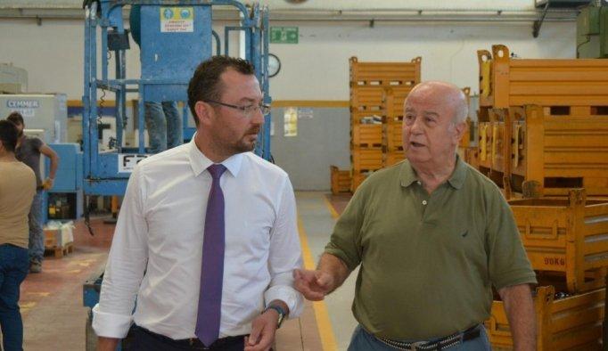 Yunusemre Sanayi Komisyonu sorunları yerinde dinledi
