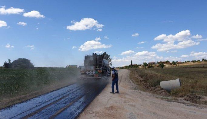 Manisa'da asfalt çalışmaları hızlandı
