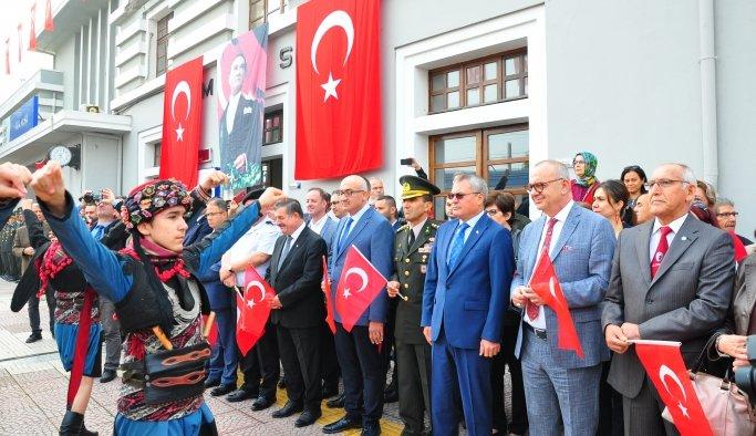 Atatürk'ün Manisa'ya gelişinin 94'üncü yılı kutlandı