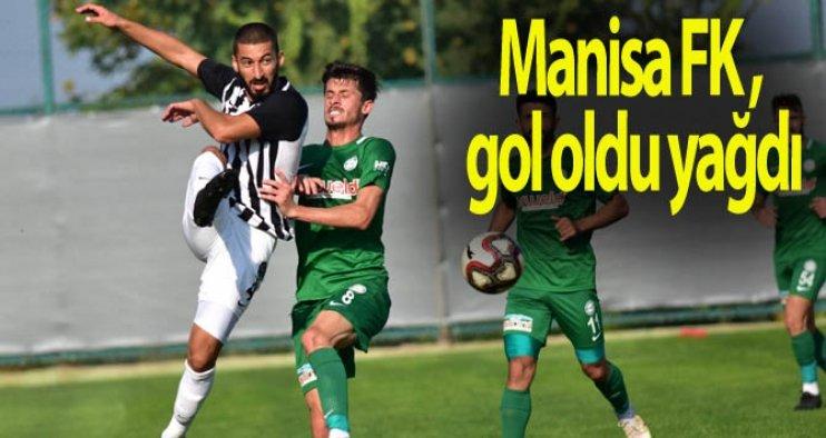 Manisa FK, gol oldu yağdı