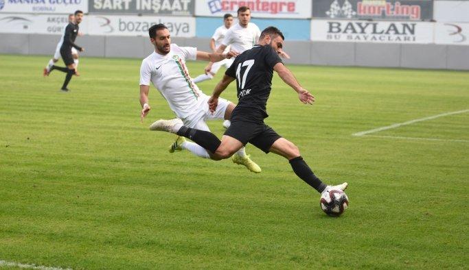 TFF 2. Lig:ManisaFK:3-Amed Sportif Faaliyetler:0