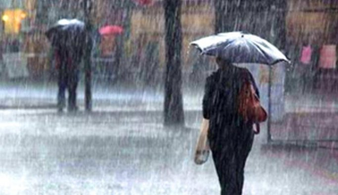 Manisa'ya kuvvetli yağmur uyarısı
