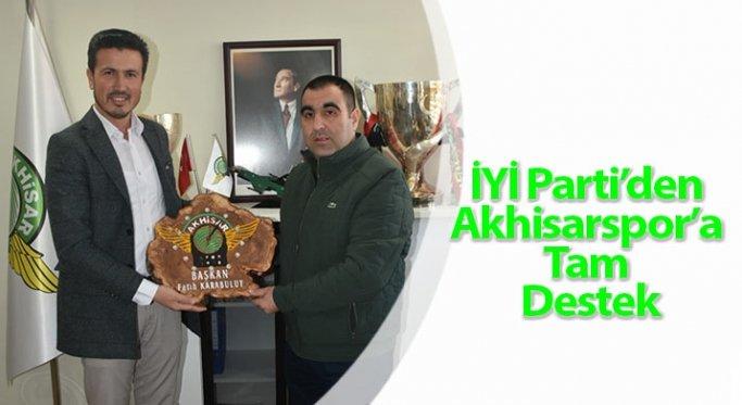 İYİ Parti'den Akhisarspor'a Tam Destek