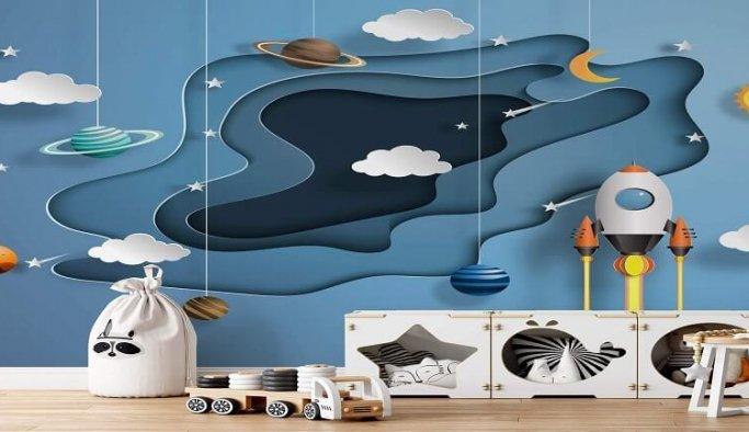Çocuk Odası İçin Duvar Kağıdı Önerileri