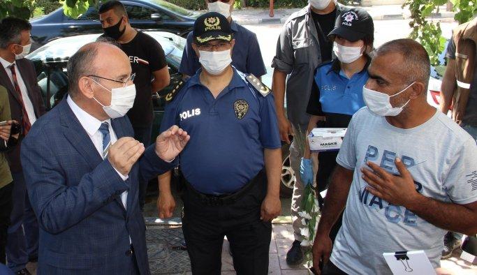 Manisa'da tedbir kurallarına uymayanlara ceza yağdı