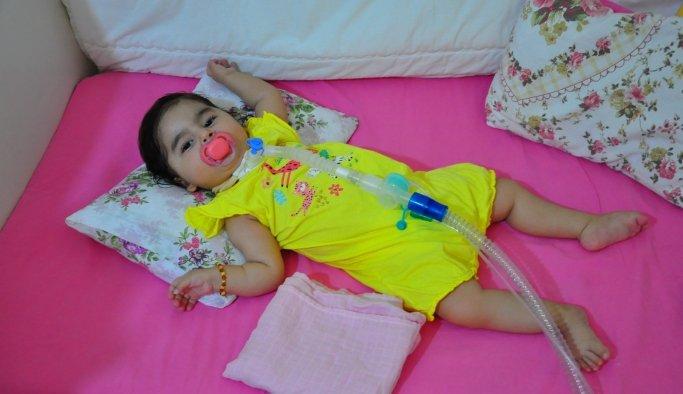 SMA hastası Rümeysa bebek iyileşmek için yardım bekliyor