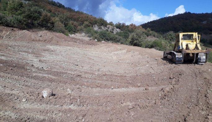 Kırkağaç'a yeni HİS göleti yapılıyor