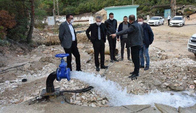 Manisa'ya 5 milyon metreküplük yeni su kaynağı