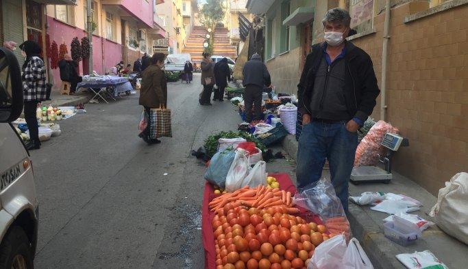 Semt pazarı son kez kuruldu