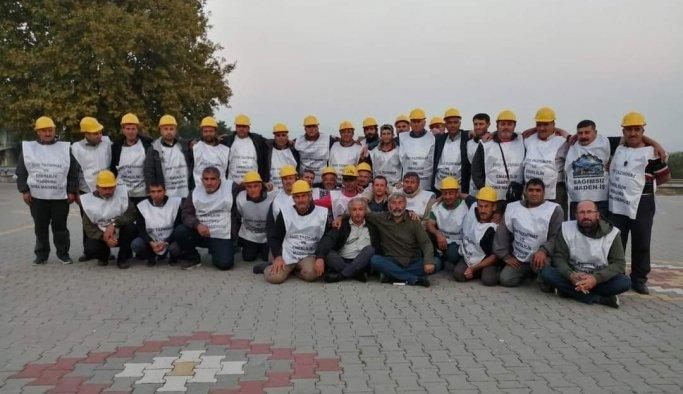 Soma'da maden işçilerinin tazminat sevinci