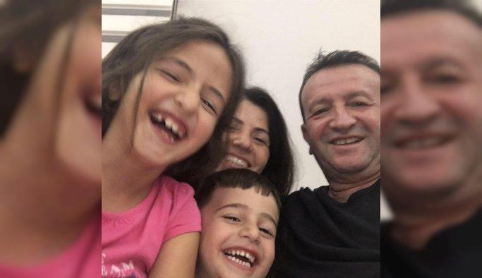 Feci kazada ölen anne, baba ve çocuklarının cenazesi Sarıgöl'e getirildi