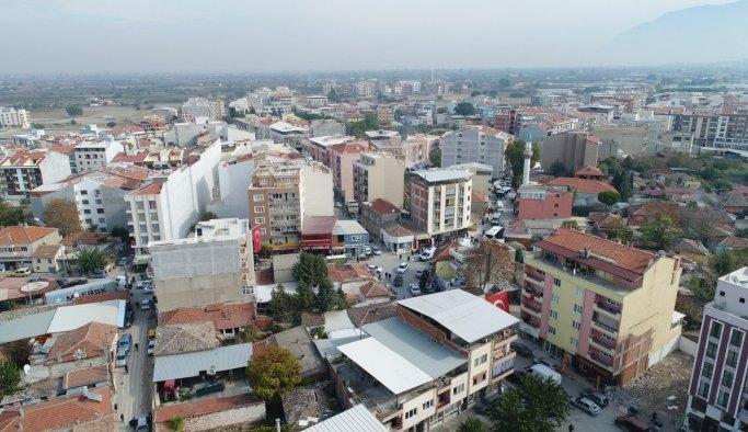 Muradiye MahallesiManisa'nın 5 ilçesinden daha büyük